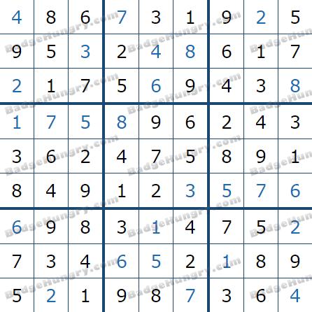 Pogo Daily Sudoku Solutions: May 10, 2021