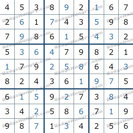 Pogo Daily Sudoku Solutions: May 12, 2021