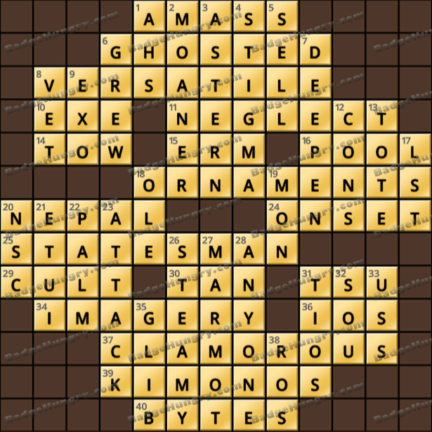Crossword Cove HD Solution: May 12, 2021