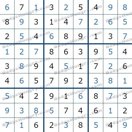 Pogo Daily Sudoku Solutions: May 13, 2021