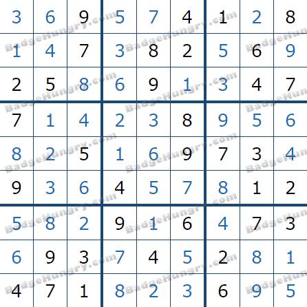 Pogo Daily Sudoku Solutions: May 14, 2021