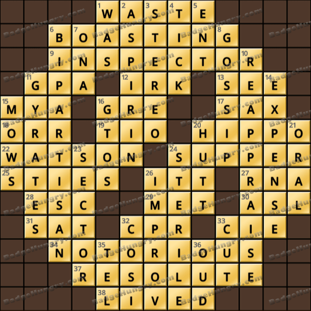 Crossword Cove HD Solution: May 14, 2021
