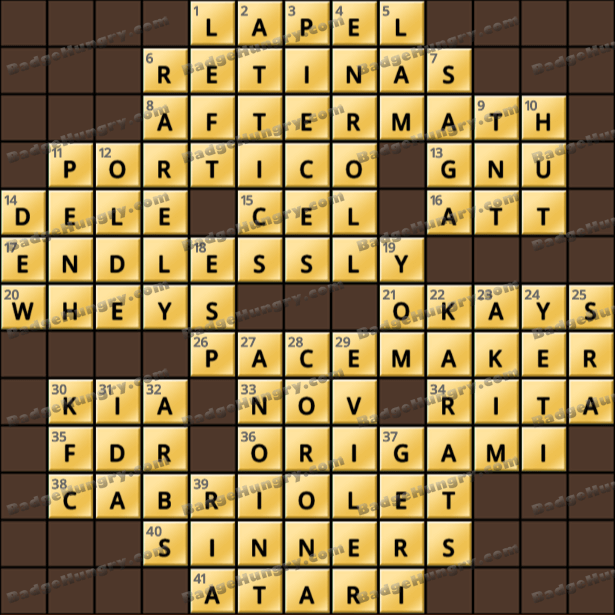 Crossword Cove HD Solution: May 17, 2021