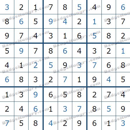 Pogo Daily Sudoku Solutions: May 18, 2021