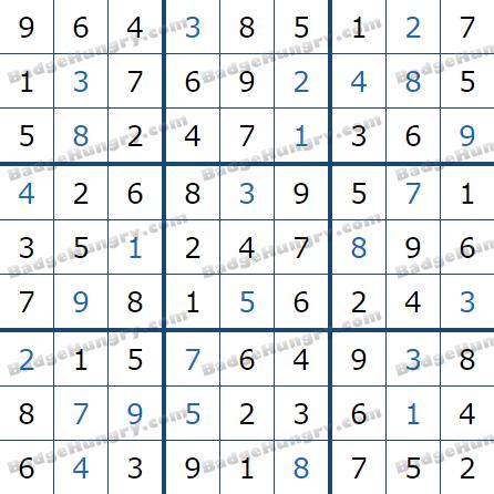 Pogo Daily Sudoku Solutions: May 19, 2021