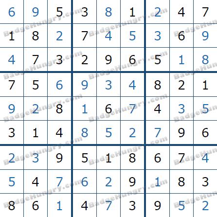 Pogo Daily Sudoku Solutions: May 20, 2021
