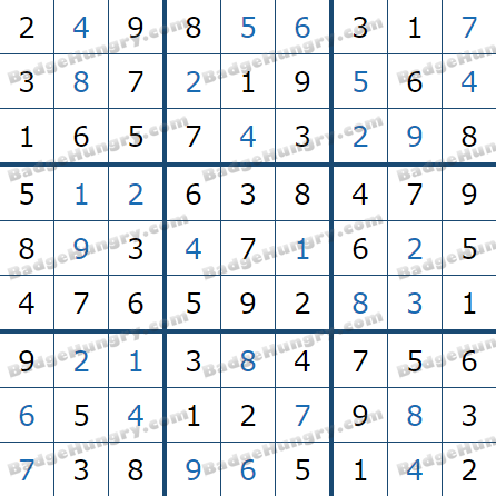 Pogo Daily Sudoku Solutions: May 21, 2021