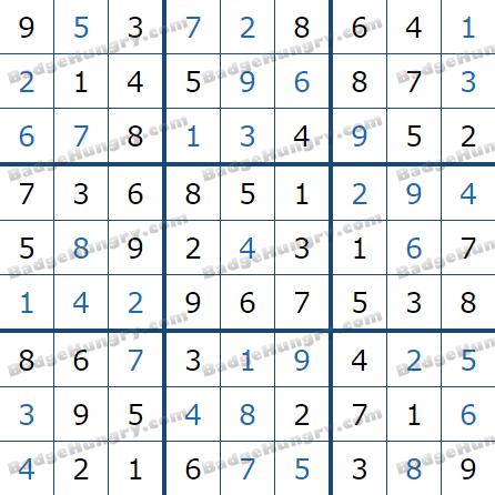 Pogo Daily Sudoku Solutions: May 22, 2021