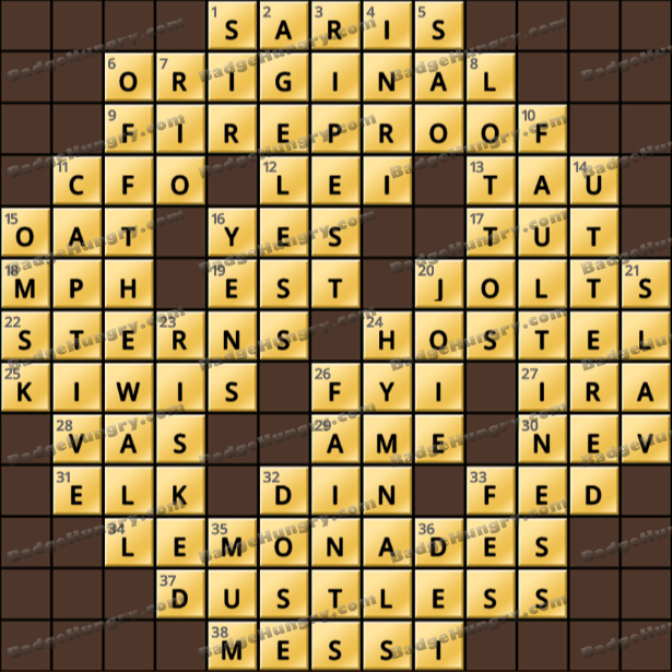 Crossword Cove HD Solution: May 25, 2021