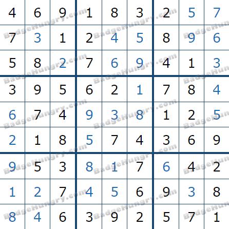 Pogo Daily Sudoku Solutions: May 26, 2021