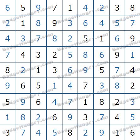 Pogo Daily Sudoku Solutions: May 27, 2021