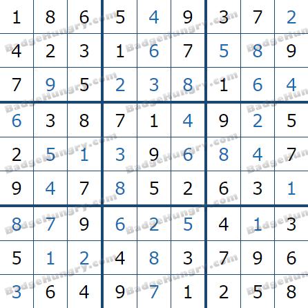 Pogo Daily Sudoku Solutions: May 31, 2021