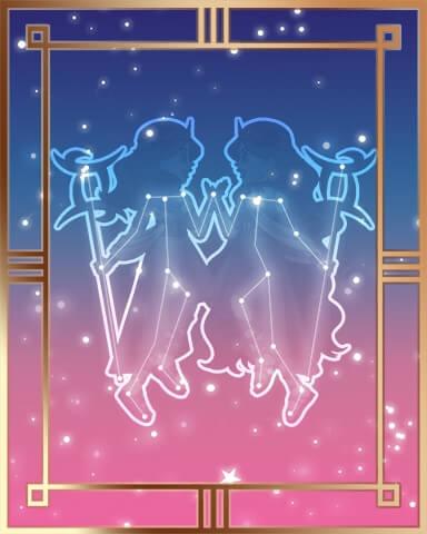 Gemini Constellation Badge