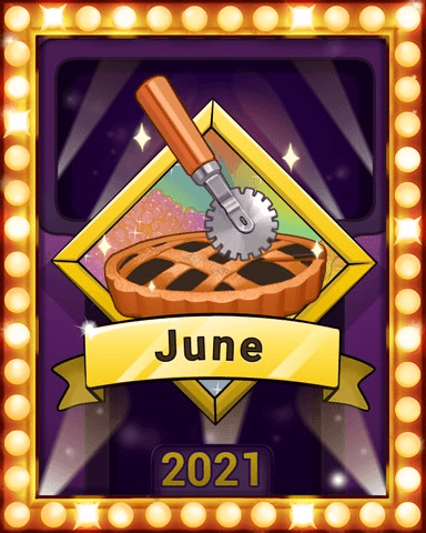 June 2021 Game of the Month Sweet Tooth Town Badge