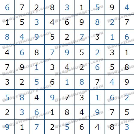 Pogo Daily Sudoku Solutions: June 5, 2021