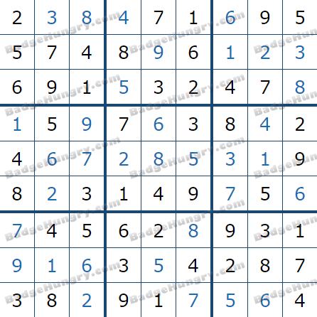 Pogo Daily Sudoku Solutions: June 6, 2021