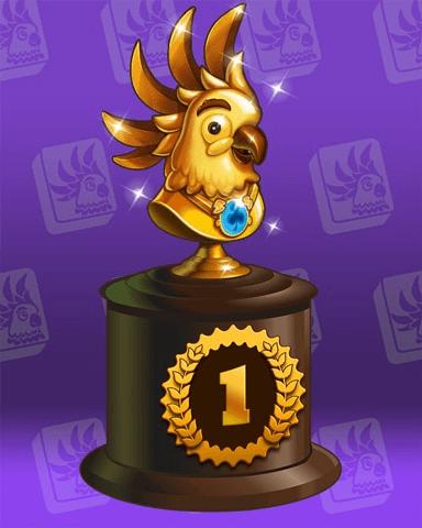 Cockatoo Cup Badge Marathon Badge