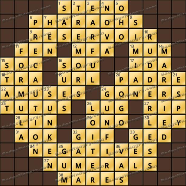 Crossword Cove HD Solution: June 7, 2021
