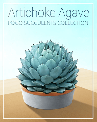 Succulent Badge Collection Badge