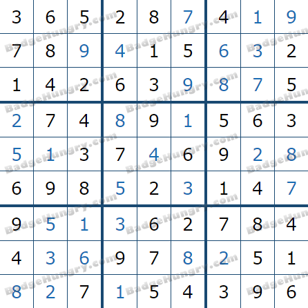 Pogo Daily Sudoku Solutions: June 9, 2021