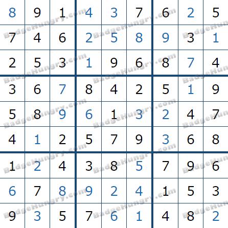 Pogo Daily Sudoku Solutions: June 11, 2021