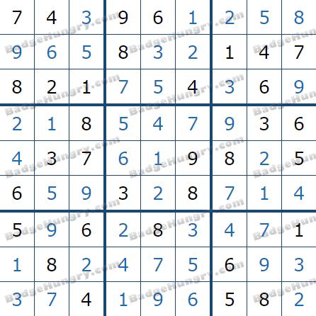 Pogo Daily Sudoku Solutions: June 13, 2021