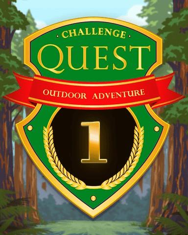 Outdoor Adventure Week 1 Badge