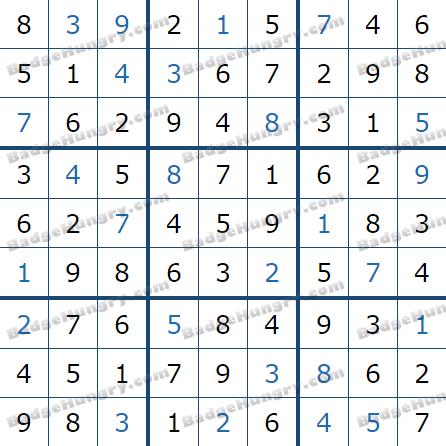 Pogo Daily Sudoku Solutions: June 15, 2021