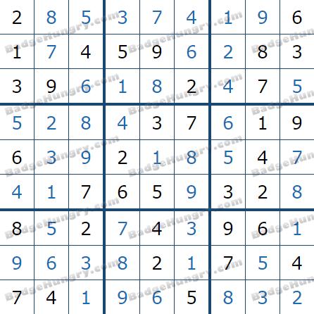 Pogo Daily Sudoku Solutions: June 17, 2021