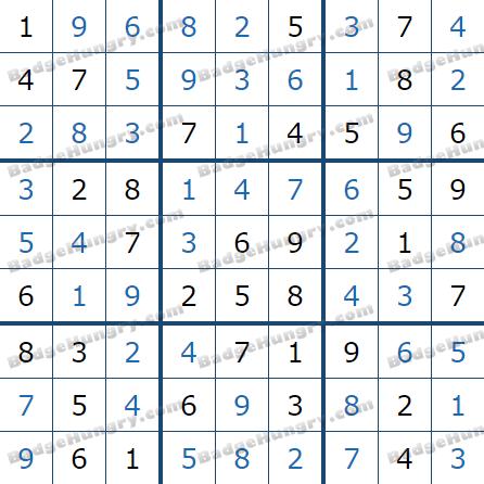 Pogo Daily Sudoku Solutions: June 21, 2021