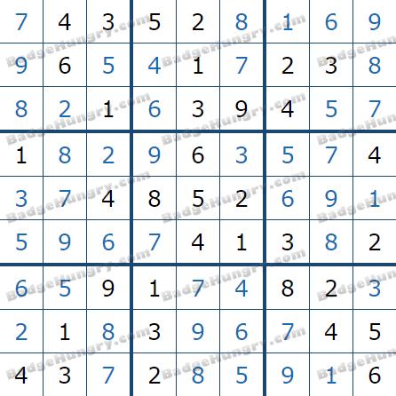 Pogo Daily Sudoku Solutions: June 22, 2021