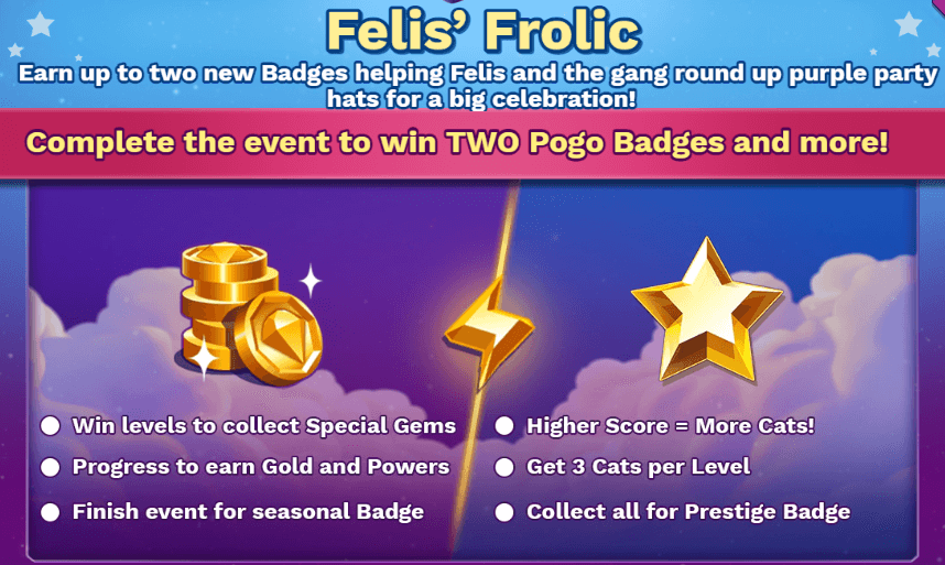 Bejeweled Stars: Felis' Frolic Event