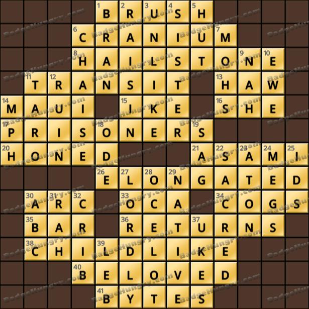 Crossword Cove HD Solution: June 23, 2021