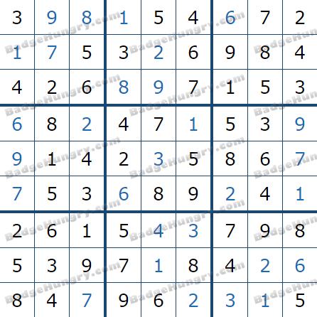 Pogo Daily Sudoku Solutions: June 24, 2021