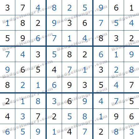 Pogo Daily Sudoku Solutions: June 26, 2021