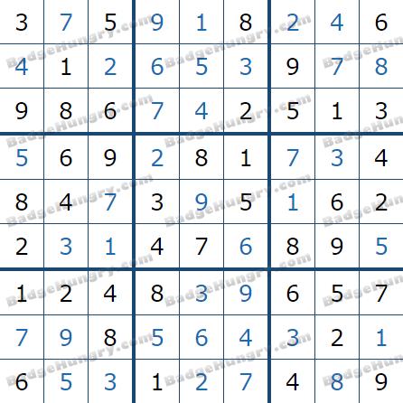 Pogo Daily Sudoku Solutions: June 27, 2021