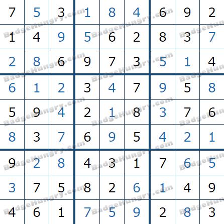 Pogo Daily Sudoku Solutions: June 28, 2021
