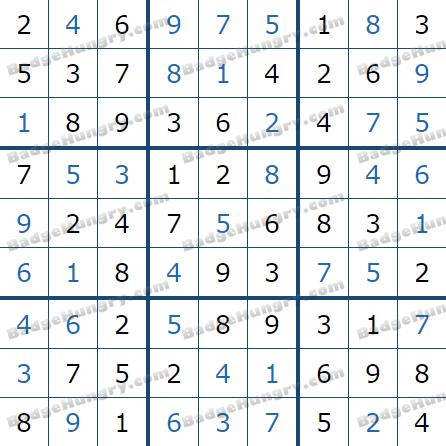Pogo Daily Sudoku Solutions: June 29, 2021