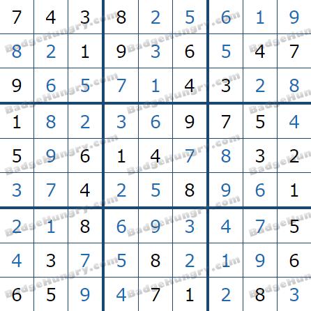 Pogo Daily Sudoku Solutions: June 30, 2021