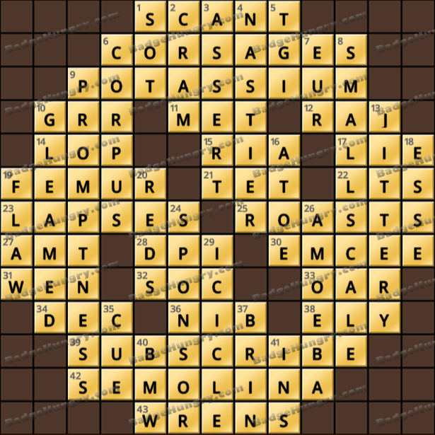 Crossword Cove HD Solution: July 1, 2021