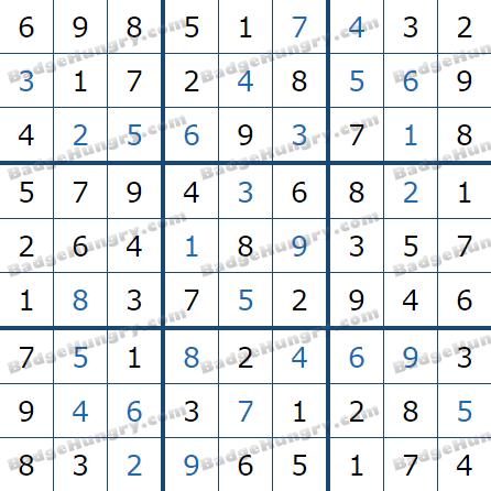Pogo Daily Sudoku Solutions: July 4, 2021