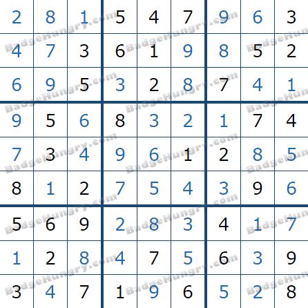 Pogo Daily Sudoku Solutions: July 7, 2021