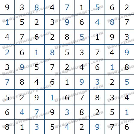 Pogo Daily Sudoku Solutions: July 8, 2021