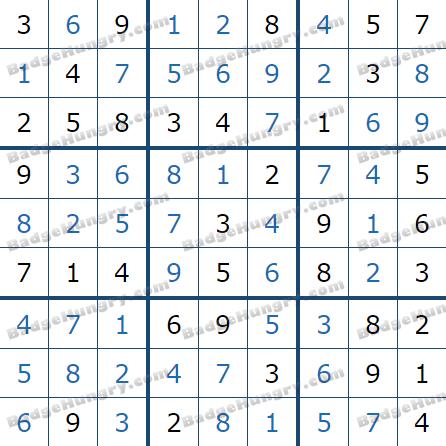 Pogo Daily Sudoku Solutions: July 9, 2021