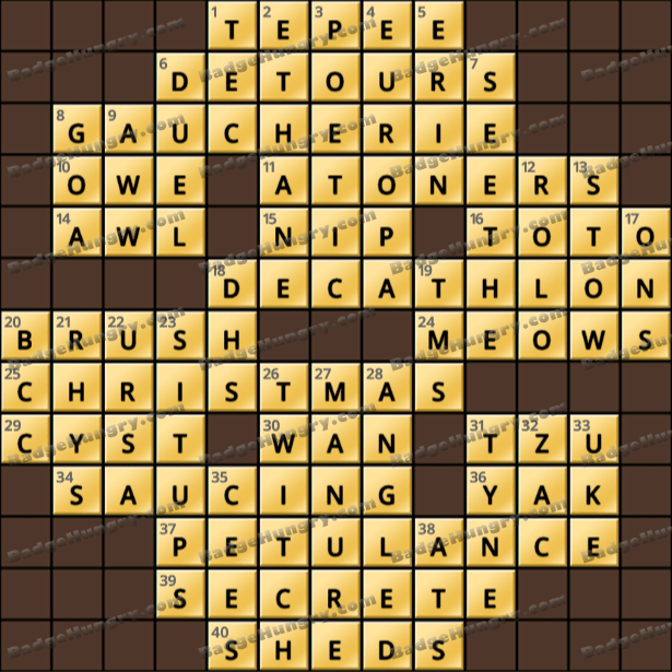 Crossword Cove HD Solution: July 9, 2021