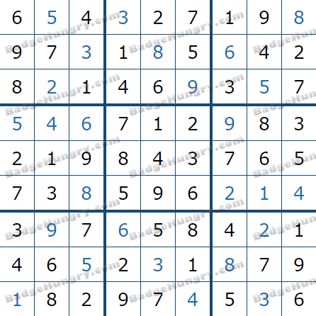Pogo Daily Sudoku Solutions: July 10, 2021