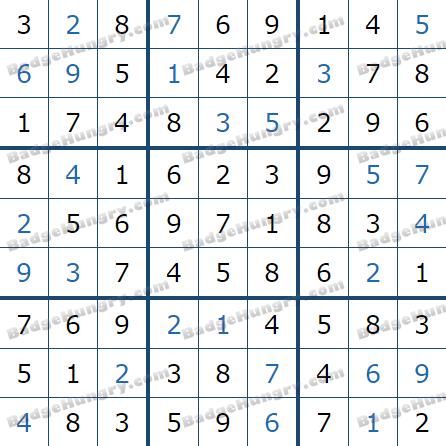 Pogo Daily Sudoku Solutions: July 11, 2021