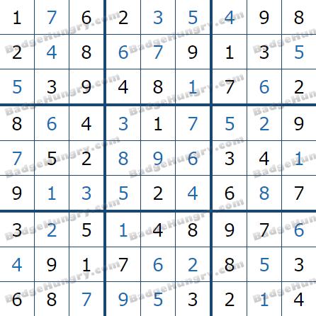 Pogo Daily Sudoku Solutions: July 12, 2021