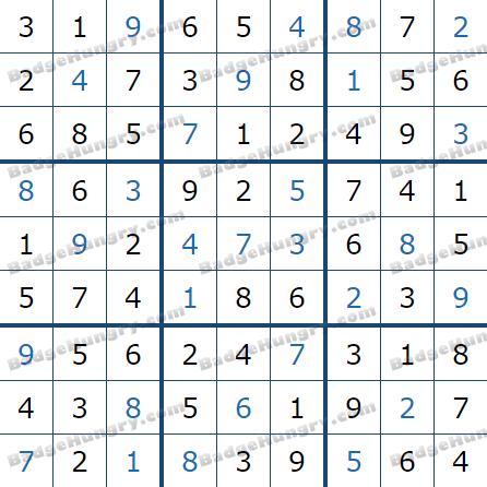 Pogo Daily Sudoku Solutions: July 13, 2021