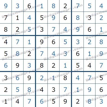 Pogo Daily Sudoku Solutions: July 14, 2021